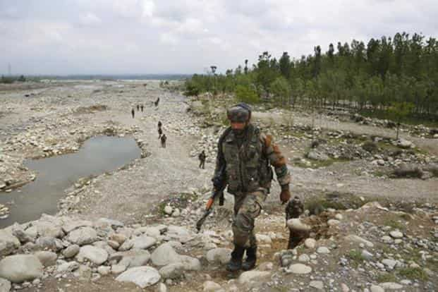 After carrying out a search operation, security forces carried out a 'reverse sweep' of the entire region to ensure that none of the militants had slipped in after the earlier cordon ended. It was at this time that the militants struck the patrol, killing one civilian and injuring two personnel. AP