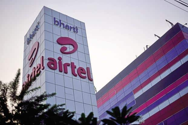 Bharti Airtel results showed that profits plunged 72% to Rs373.4 crore. Photo: Pradeep Gaur/Mint