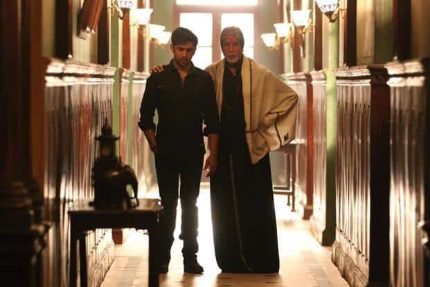 Amitabh Bachchan in a still from 'Sarkar 3'.