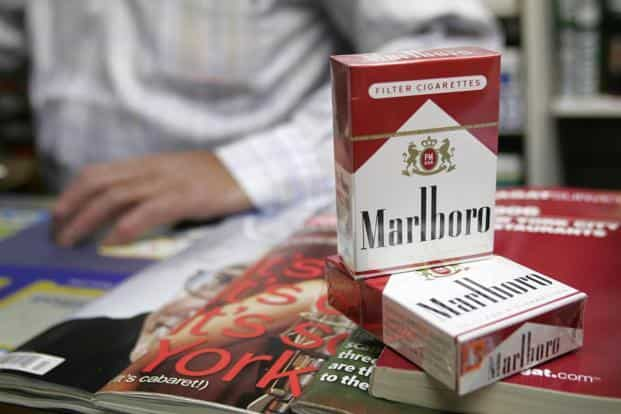 A file photo. Australia was the first country to prohibit tobacco logos. Photo: Bloomberg