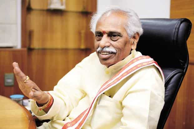 Bandaru Dattatreya expressed hope that the new wage and industrial relations codes will be passed in Parliament's next session. Photo: Priyanka Parashar/Mint