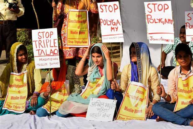 The SC has asked the AIMPLB if all 'Qazis' can be asked to include an option of saying 'no' to triple talaq as a condition at the time of marriage. Photo: PTI