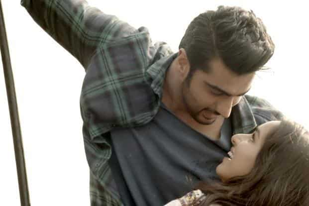 Arjun Kapoor (left) and Shraddha Kapoor in a still from 'Half Girlfriend'.