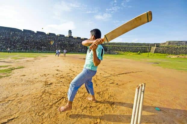 Cricket is central to one story. Photo: iStockphoto.