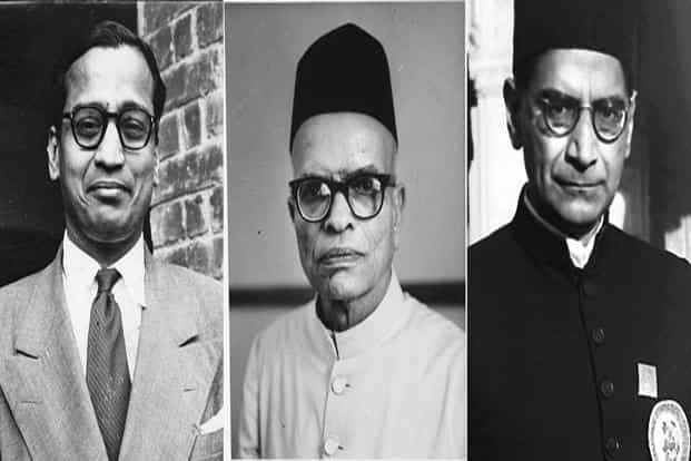 (From left) V.K.R.V. Rao, D.R. Gadgil and P.C. Mahalanobis—members of the first National Income Committee set up in 1949. The edifice built by Mahalanobis was designed for a command-and-control era. Photo: HT and Photodivision.Gov.in
