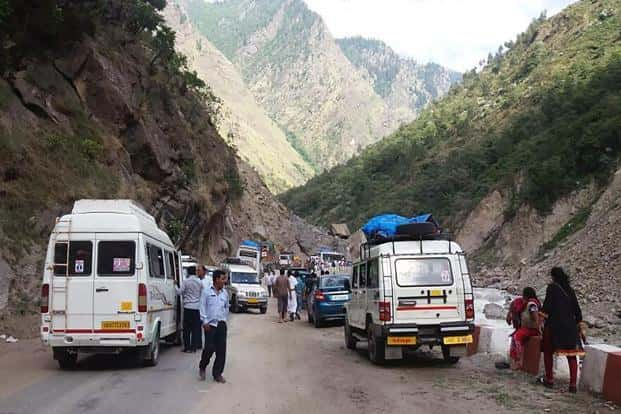 BRO personnel are working on a war footing to clear the debris and the Rishikesh-Badrinath National highway will be reopened for traffic soon, says an official. Photo: AFP