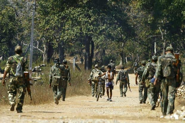 The 25 slain men belonged to the 'Delta' company of the 74th CRPF and were deployed in the Naxal hotbed between Burkapal and Chintagufa in Sukma district, one of the worst-hit by ultra-Left violence. Photo: AFP