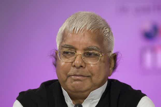 RJD chief Lalu Prasad, however, sought to put up a brave face after the raids, saying he was 'not scared at all' and will continue to fight against 'fascist forces'. Photo: Mint