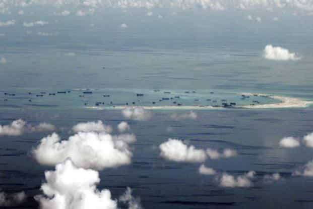 China claims almost all of the South China Sea while Vietnam, the Philippine's, Malaysia and Brunei have counter claims. Photo: AP