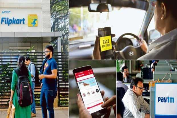 Internet start-ups such as Flipkart (e-commerce), Paytm (fintech) and Ola (online taxi booking) are transforming the sectors they operate in, and everyday life in India. And they are just getting started. Photo: Mint