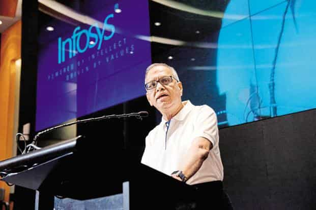 Infosys co-founder N.R. Narayana Murthy said he has no doubt that all industry leaders have good intentions to solve the problem of layoffs. Photo: Aniruddha Chowdhury/Mint