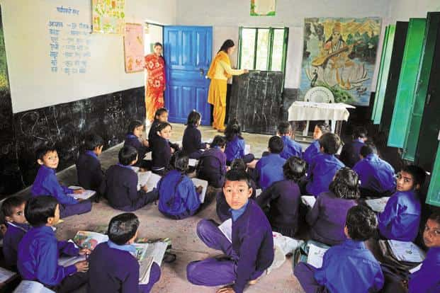 It is difficult for most teachers, working as they do in the world of children, to be unresponsive to the demands of the role or lose their humanity entirely. Photo: Pradeep Gaur/Mint