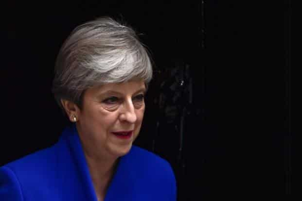 Theresa May lost her two closest aides on Saturday as she struggled to reassert her leadership after a crushing election setback. Photo: Reuters