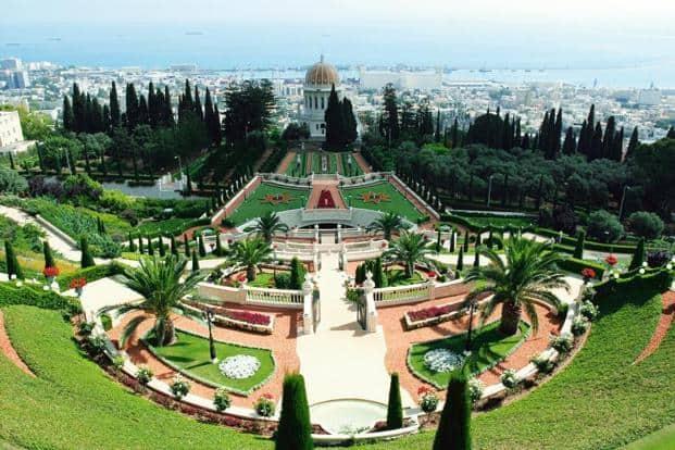The shrine of the Báb and the Bahá'í Gardens in Haifa, Israel. Photo: iStockphoto