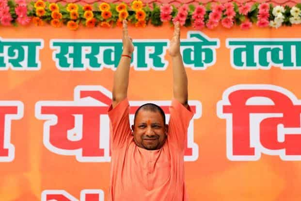 The Yogi Adityanath government faces many major challenges including arranging funds for mega projects like the Purvanchal e-way. Photo: Reuters
