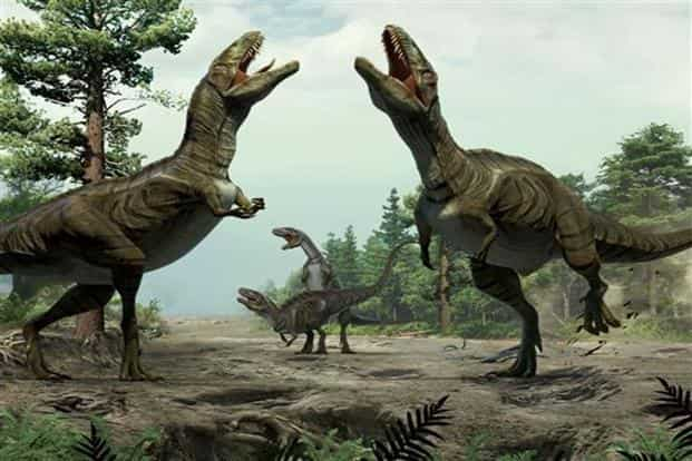 The Triassic extinction, one of the largest mass extinctions of animal life on record, was proceeded by the dinosaur era. Photo: AP