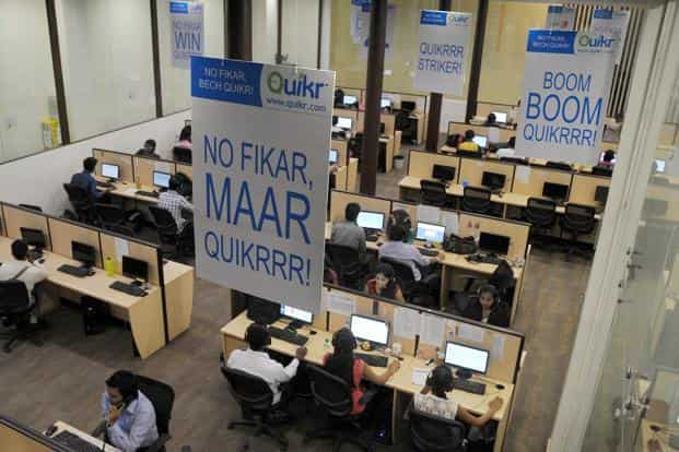 For Quikr, which has been on an acquisition spree in the last 18 months, this is the second acquisition in the jobs segment. Photo: AFP