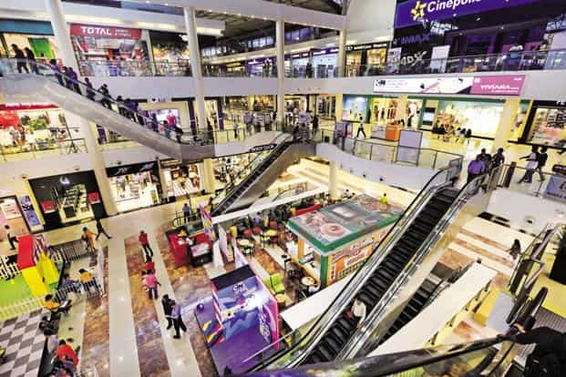 The Viviana mall off Ghodbunder Road, the biggest in Thane, operates on a lease model. Photos: Abhijit Bhatlekar/Mint