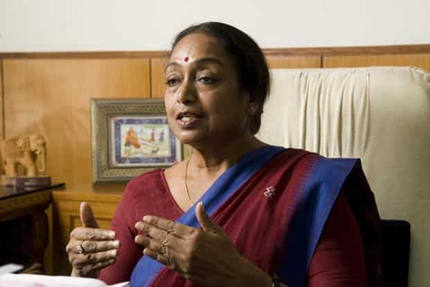 Former Lok Sabha speaker and Congress leader Meira Kumar has been named the opposition candidate for presidential election. Photo: HT