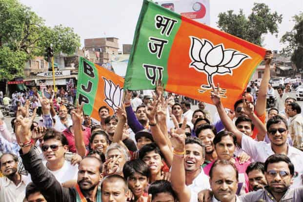 In a piece written after the elections in Uttar Pradesh earlier this year, Yogendra Yadav maintained that the BJP was the 'hegemonic party in national politics'. Photo: PTI