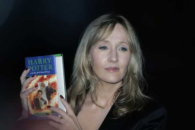 Author of the Harry Potter series J.K. Rowling. The seven volumes of the saga, translated into 79 languages in 200 countries, have sold more than 450 million copies worldwide. Photo: Bloomberg