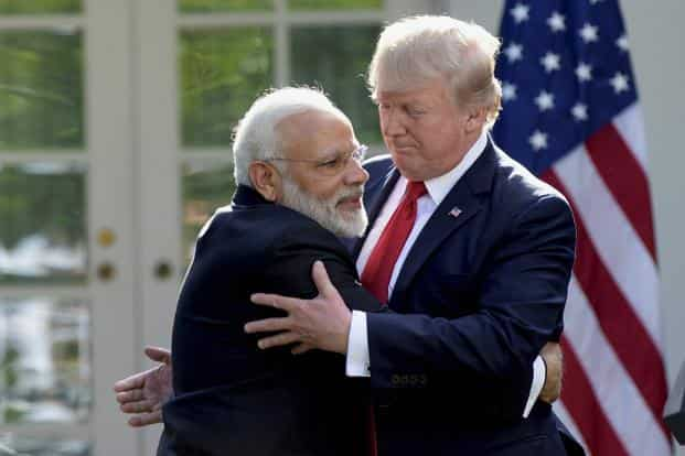 Washington and New Delhi share anxieties about China's rise, said China's state-run Global Times. Photo: AP/PTI