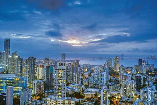 A file photo of the skyline of Mumbai. Utilities are now deploying self-healing concepts in densely populated metros such as Mumbai and New Delhi to reduce the time for power restoration to less than a minute from more than 15 minutes earlier. Photo: Hindustan Times
