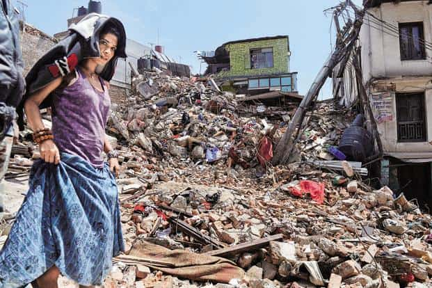 Nepal was hit by a massive 7.8 magnitude earthquake in 2015 that left nearly, 9,000 people dead and as many as 22,000 injured. File photo: AFP