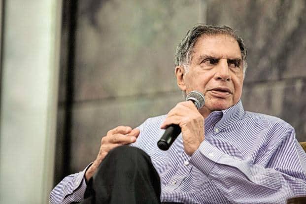 Tata Sons chairman emeritus Ratan Tata is an investor Moglix. Photo: Bloomberg