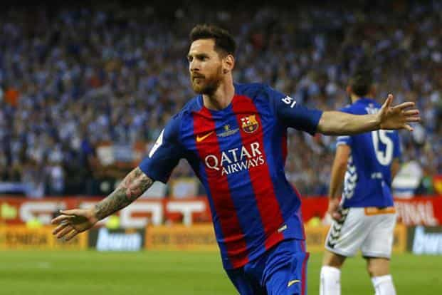 6067878049c2b6 ... Messi has been at Barcelona since the age of 13, rising through their  youth system