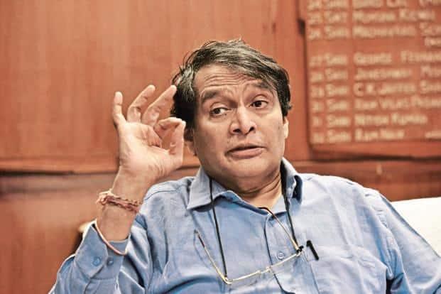 Railway minister Suresh Prabhu. Photo: HT