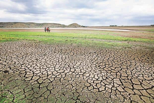 Successive droughts and the apex court's directions to release Cauvery water to Tamil Nadu has seen farmer unrest grow in Karnataka since September last year. Photo: HT