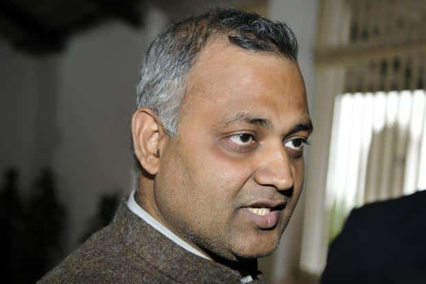A file photo of Somnath Bharti, one of the MLAs booked by the police. Photo: HT