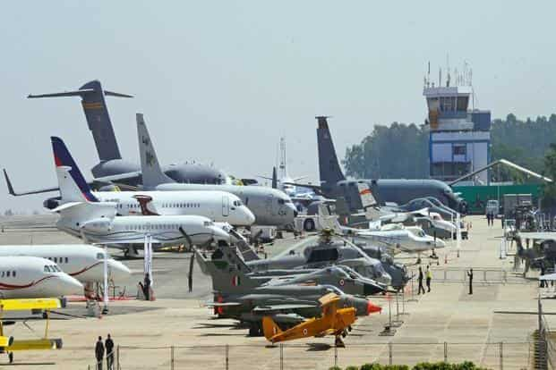 A file photo. Dhirubhai Ambani Aerospace Park will build a manufacturing unit for production of aircraft, electronic warfare system etc. Photo: Hemant Mishra/Mint