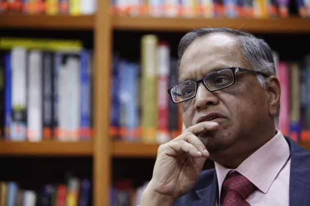 Infosys co-founder N.R. Narayana Murthy has had several run-ins with current Infosys CEO Vishal Sikka over corporate governance issues. Photo: Reuters