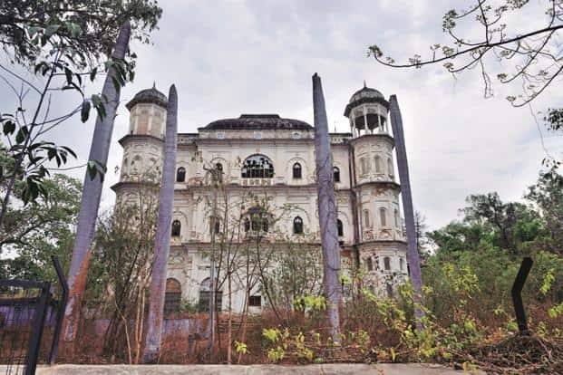 The Butler Palace in Lucknow, one of the 'enemy properties' of the Raja of Mahmudabad that is at stake in the court case against the Enemy Property Act. Photos: Pradeep Gaur/Mint
