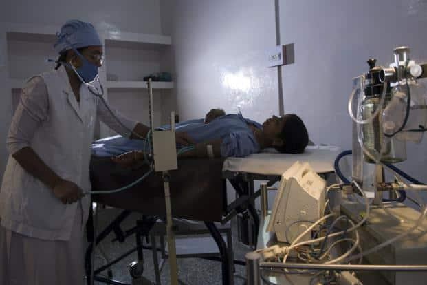 CAG report highlighted improper financial management  in government hospitals. Photo: Priyanka Parashar