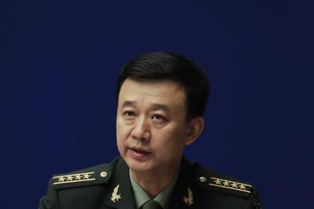 It is easier to shake a mountain than to shake the PLA, Chinese defence ministry spokesman colonel Wu Qian said on Monday. Photo: AP