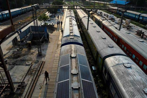 Besides passengers in seven Rajdhani and six Shatabdi trains will have an option for the e-catering facility. Photo: AFP