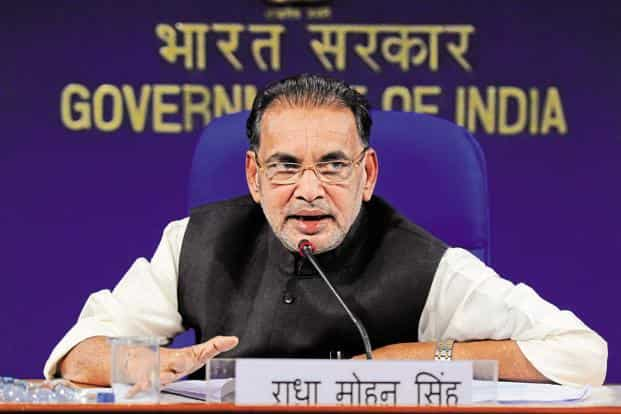 Agriculture minister Radha Mohan Singh. Photo: HT