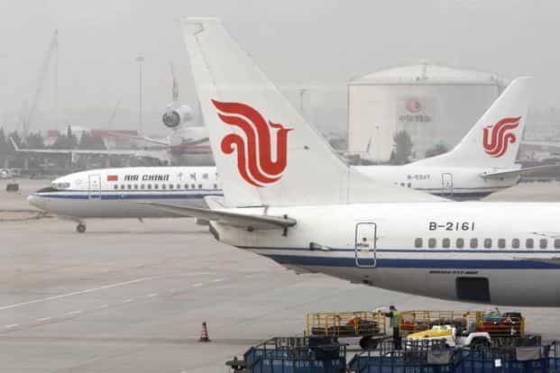 By 2036, China's domestic air-travel traffic will quadruple to 1.6 billion passengers, or 1.3 flights for each person per year, according to Airbus SE. Photo: Bloomberg