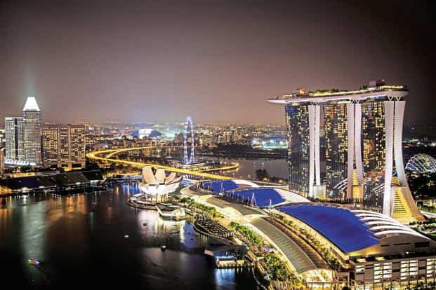 Singapore is good, but the cruise is better, say Indian tourists. Photo: Bloomberg