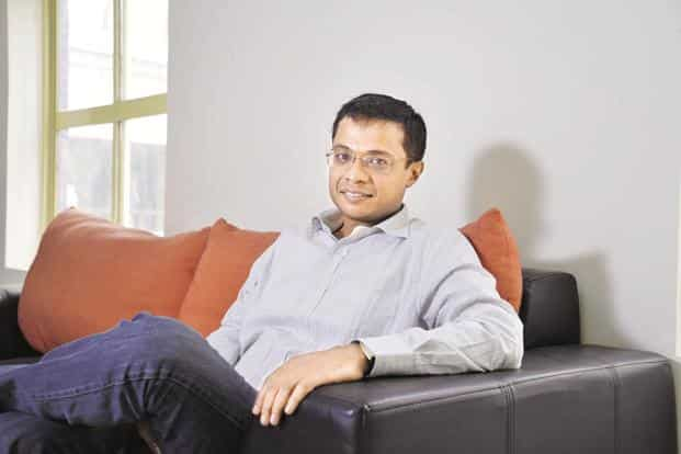 Sachin Bansal, co-founder and executive chairman of Flipkart. Billion will offer products across categories such as home appliances and fashion. Photo: Hemant Mishra/Mint