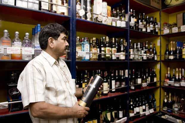 Sales volume at liquor companies have declined between 10% and 19%. Photo: Ramesh Pathania/Mint
