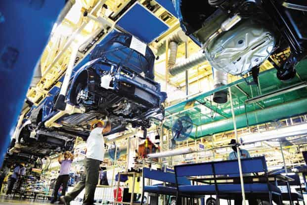 Maruti Suzuki's car plant at Manesar, Haryana. Quality of fuel is one of the major concerns of carmakers ahead of the rollout Bharat VI (BS VI) emission norms. Photo: Ramesh Pathania/Mint
