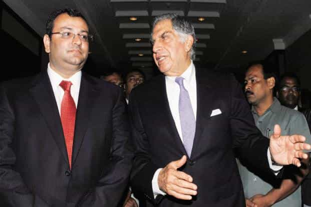 Cyrus Mistry (left) and Ratan Tata. Sebi had in January ruled that Tata companies sharing information with the chairman emeritus did not amount to a violation of insider trading norms. Photo: PTI