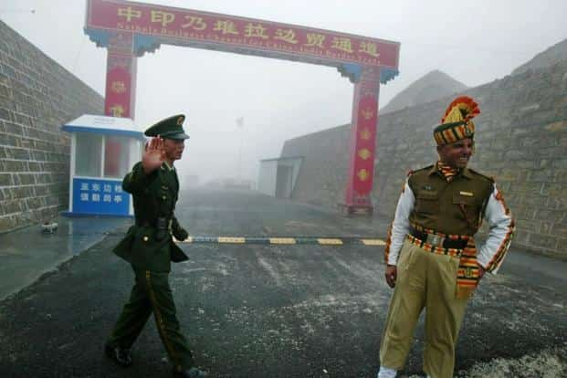 The Doklam standoff at the trijunction of India, China and Bhutan was triggered after Chinese troops attempted to construct a road in the region. Photo: AFP