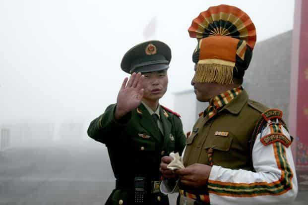 British deputy high commissioner said it is an issue between India and China. Photo: AFP