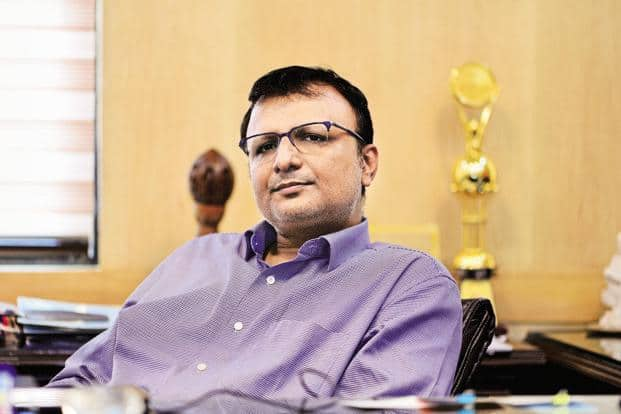 Shashi Shekhar Vempati, who was recently appointed as the CEO of Prasar Bharati, is the first non-IAS officer ever to head the public broadcaster. Photo: Priyanka Parashar/Mint