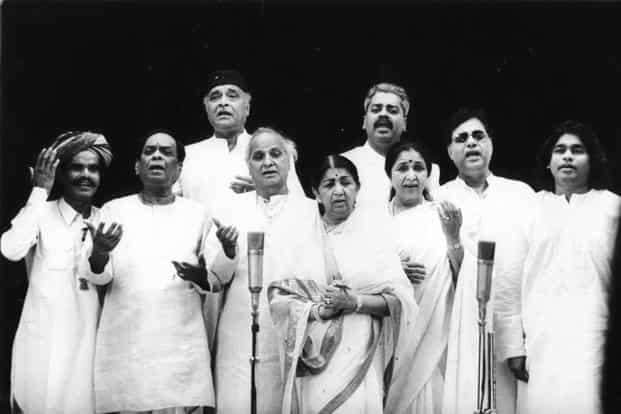 70 years of Indian music
